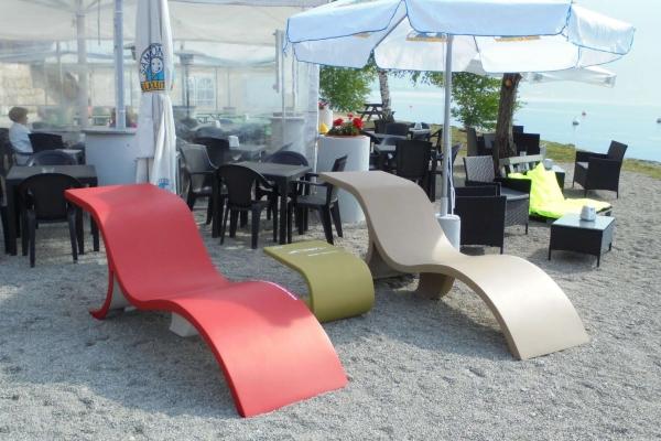 marò line design - chaise longue